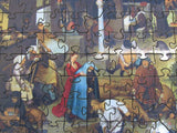 Artifact Puzzles - Bruegel Netherlandish Proverbs Wooden Jigsaw Puzzle