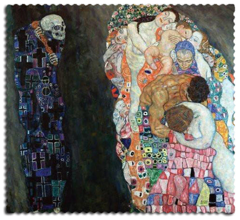 Artifact Puzzles - Klimt Death and Life Wooden Jigsaw Puzzle