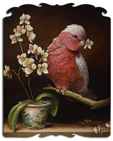 Artifact Puzzles - Kevin Sloan Naughty Bird Wooden Jigsaw Puzzle