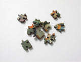 Artifact Puzzles - Alceste Campriani Pappagalli Wooden Jigsaw Puzzle