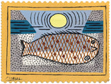 Artifact Puzzles - Pablo Picasso The Stranded Fish Wooden Jigsaw Puzzle