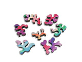 Artifact Puzzles - Georgia O'Keeffe Reflections Double-Sided Wooden Jigsaw Puzzle