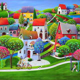Artifact Puzzles - Iwona Lifsches Serenity Wooden Jigsaw Puzzle