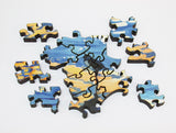 Artifact Puzzles - Kate Swanson Sandpipers Wooden Jigsaw Puzzle