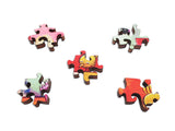 Artifact Puzzles - Vikram Madan Social Distancing Double-Sided Wooden Jigsaw Puzzle