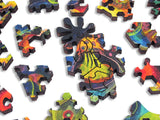 Artifact Puzzles - Bruce Riley Stem Cell Wooden Jigsaw Puzzle