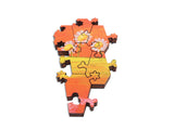 Artifact Puzzles - Vikram Madan Stop and Smell the Daisies Wooden Jigsaw Puzzle
