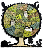 Artifact Puzzles - Sandi Rigby Tree of Wisdom Wooden Jigsaw Puzzle