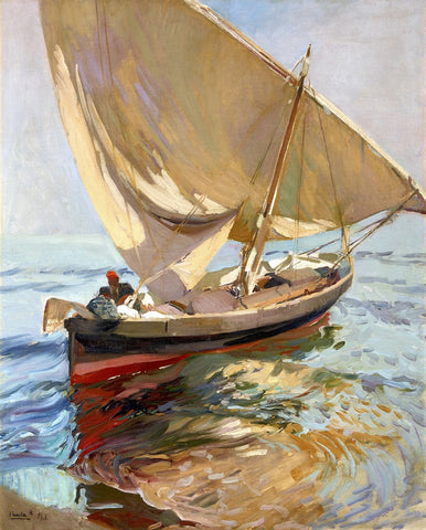 Artifact Puzzles - Joaquin Sorolla Valencia Wooden Jigsaw Puzzle