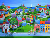 Ecru Puzzles - Iwona Lifsches Weekend in Sommersby Wooden Jigsaw Puzzle