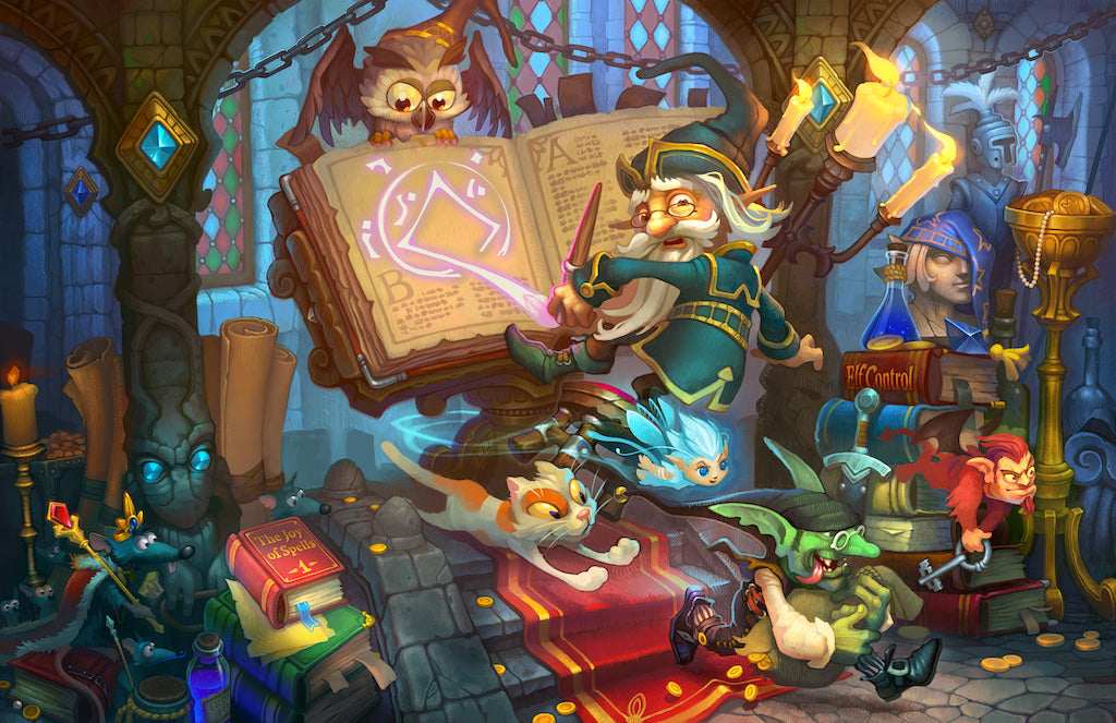 Artifact Puzzles - Jonik Wizard's Workshop Wooden Jigsaw Puzzle