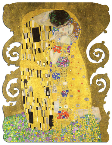 Artifact Puzzles - Klimt The Kiss Wooden Jigsaw Puzzle