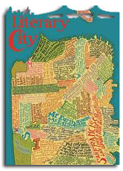Artifact Puzzles - Big San Francisco Literary Map Wooden Jigsaw Puzzle