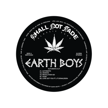 Earth Boys Release - Automatic EP (PRE-ORDER)