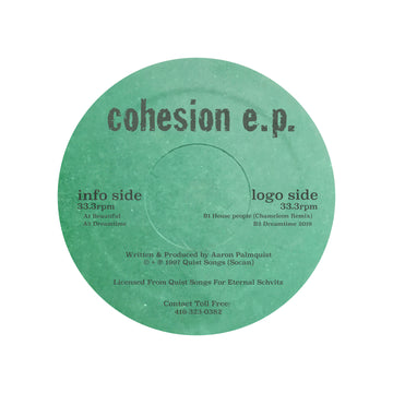Aaron Palmquist - Cohesion EP (PRE-ORDER)