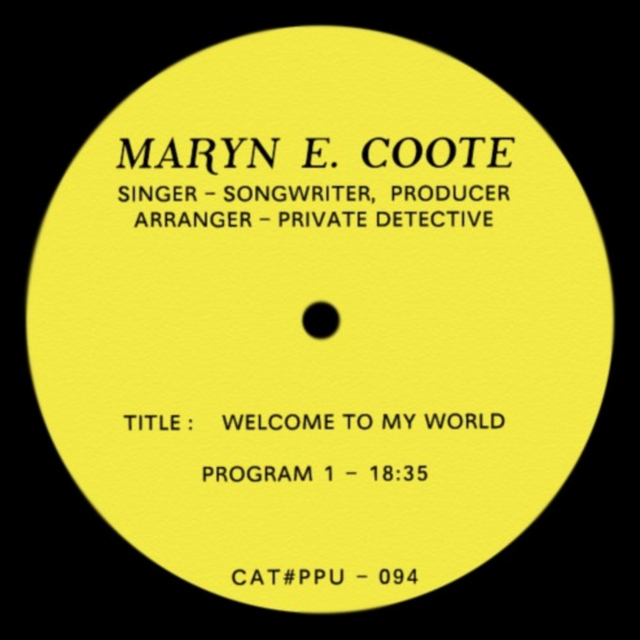 Maryn E Coote - Welcome To My World