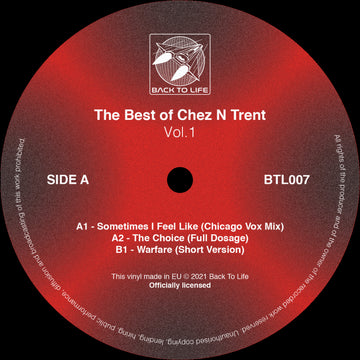 Various - The Best of Chez N Trent Vol. 1 [Ltd. Colour Vinyl - 1 Per Customer] (SHIPPING NEXT WEEK)