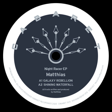 Matthias - Night Racer EP (SHIPPING NEXT WEEK)