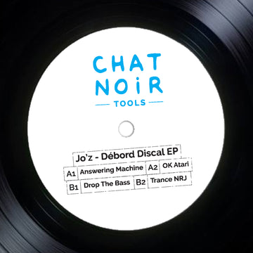 Jo'z - Débord Discal EP (SHIPPING NEXT WEEK)