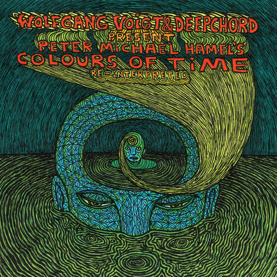 Deepchord & Wolfgang Voigt - Colours of Time Re-interpreted LP [Ltd. 100 Copy Repress]