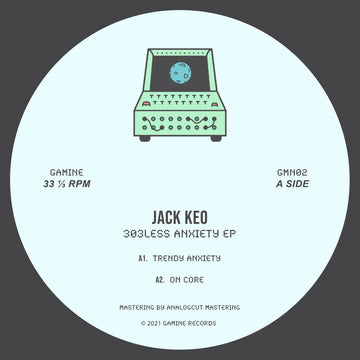 Jack Keo - 303less Anxiety EP (PRE-ORDER)