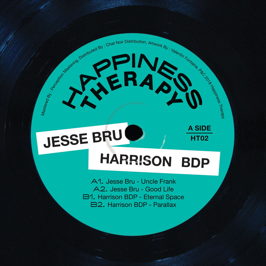 Jesse Bru, Harrison BDP - Happiness Therapy Split Vol.2