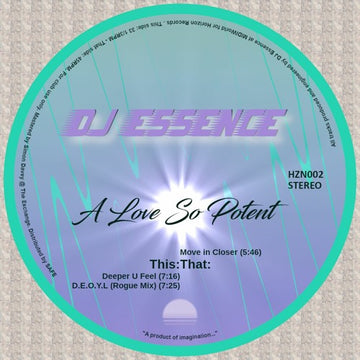DJ Essence - A Love So Potent (SHIPPING NEXT WEEK)