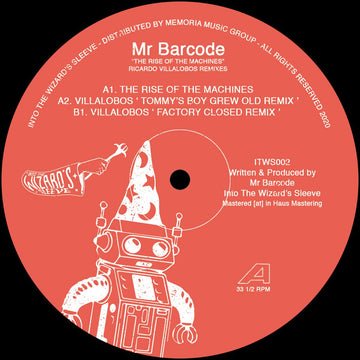 Mr Barcode / Ricardo Villalobos - The Rise Of The Machines (PRE-ORDER)