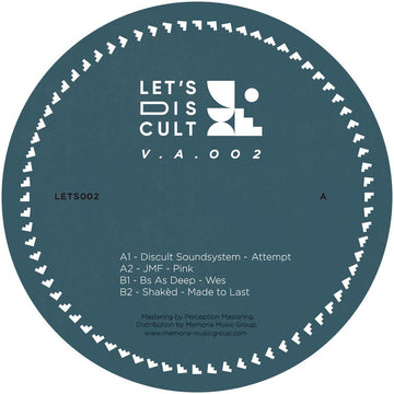 Various Artists - Lets Discult 002 (PRE-ORDER)
