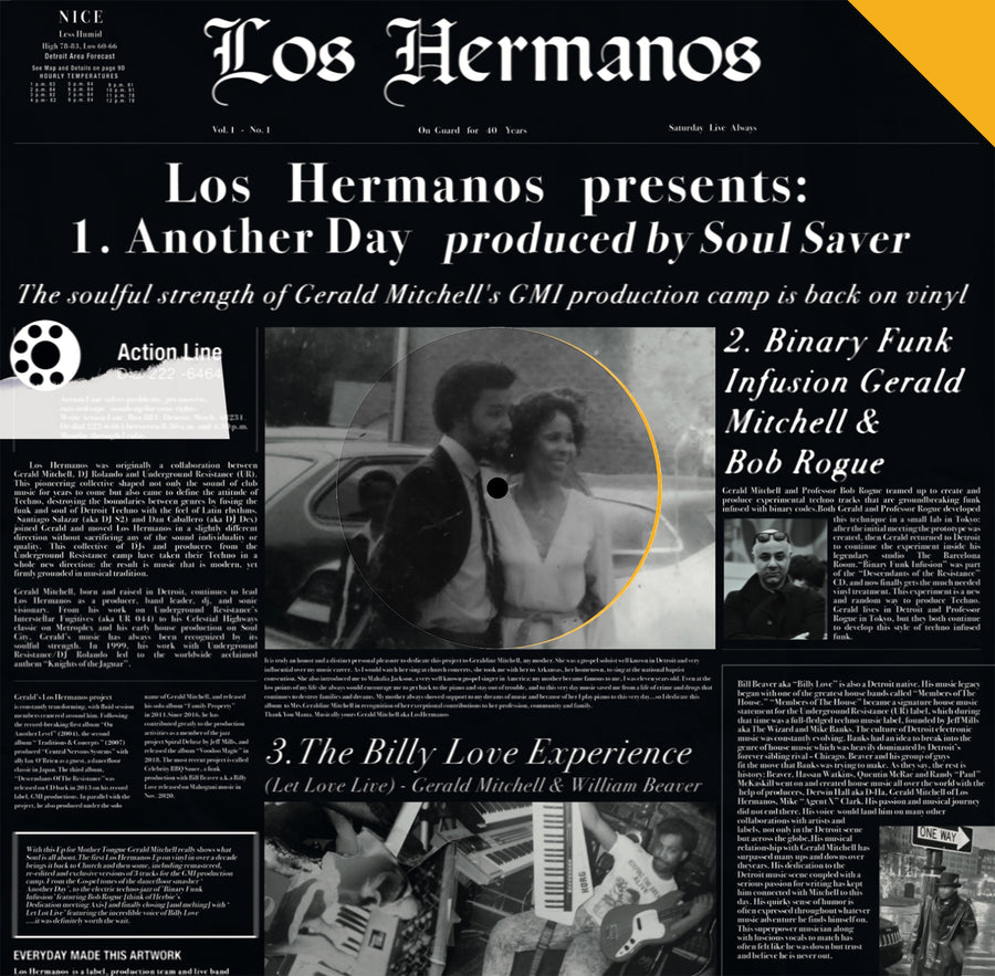 Gerald Mitchell, Billy Love, Bob Rogue - Los Hermanos (SHIPPING THIS WEEK)