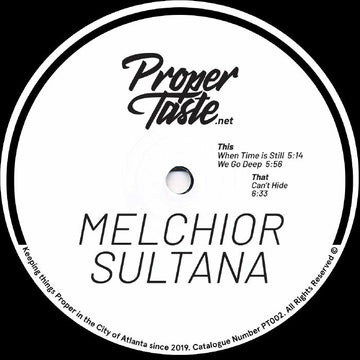Melchior Sultana - When Time Is Still EP (PRE-ORDER)