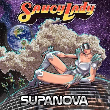 Saucy Lady ‎- Supanova LP