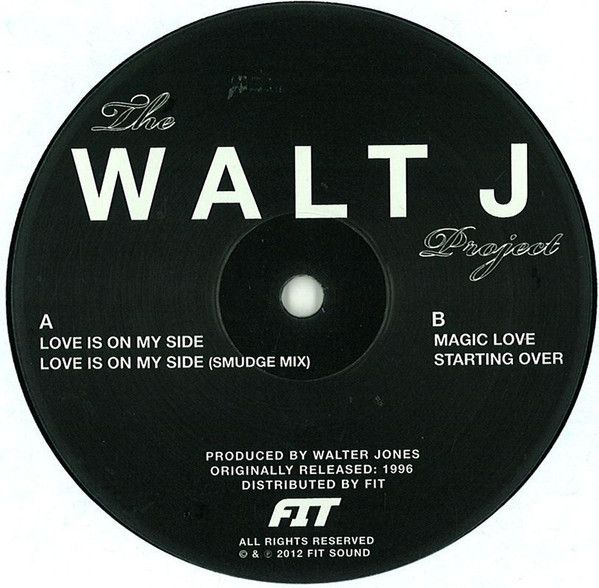 Walt J ‎– The Walt J Project