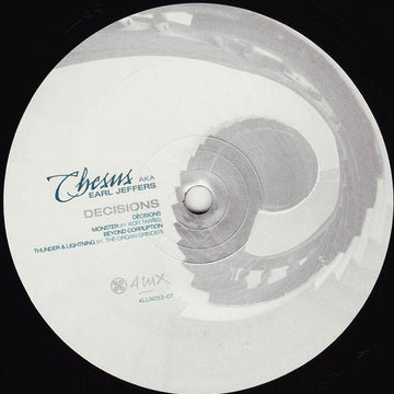Chesus aka Earl Jeffers - Decisions (PRE-ORDER)