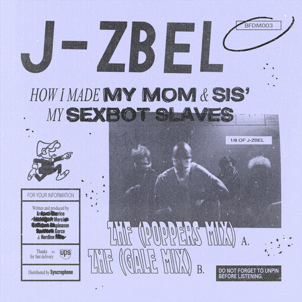 J-Zbel - How I Made My Mom & Sis' My Sexbot Slaves (PRE-ORDER)