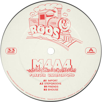 M4A4 - Forever Underground EP (SHIPPING NEXT WEEK)