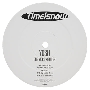 Yosh - One More Time EP (PRE-ORDER)