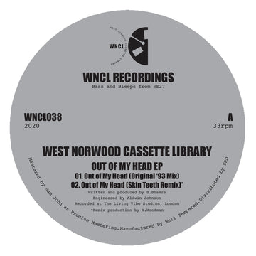 West Norwood Cassette Library - 'Out of My Head' EP