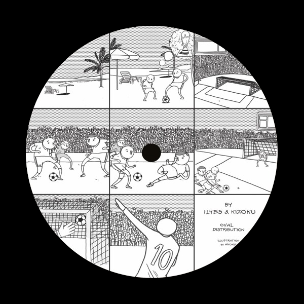 Ilyes & Kizoku ‎- MINERAL002 (Ltd. 300 Copies)