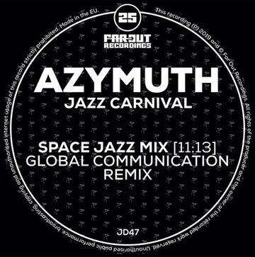 Azymuth - Jazz Carnival (Global Communication Remix) (PRE-ORDER)