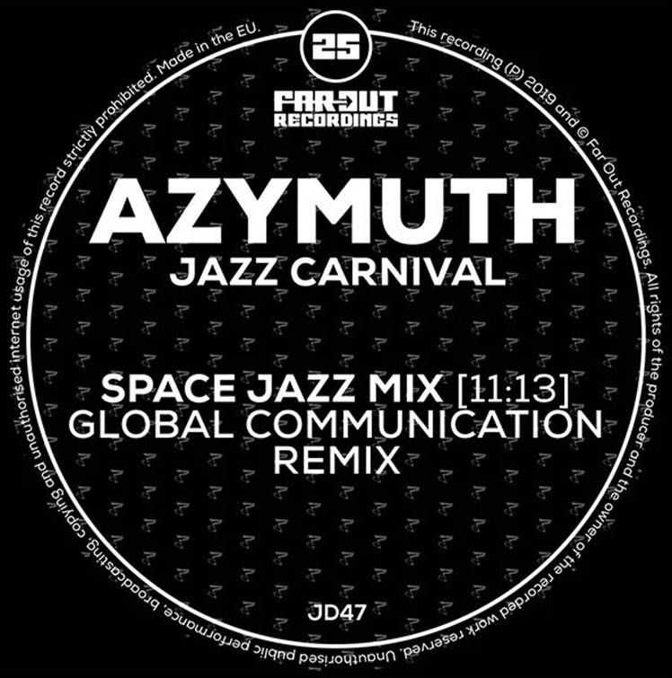 Azymuth - Jazz Carnival (Global Communication Remix) (NM Sleeves)