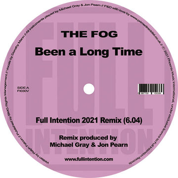 Full Intention - Been a Long Time (PRE-ORDER)