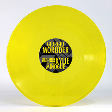 (RSD 2020) Giorgio Moroder ft. Kylie Minogue - Right Here Right Now [Yellow Vinyl] (PRE-ORDER)