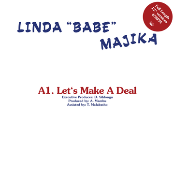 Linda Majika / Thoughts Visions & Dreams - Let's Make A Deal / Step Out Of My Life (PRE-ORDER)