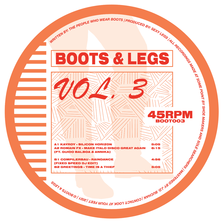 Various Artists - Boots & Legs Vol.3 EP
