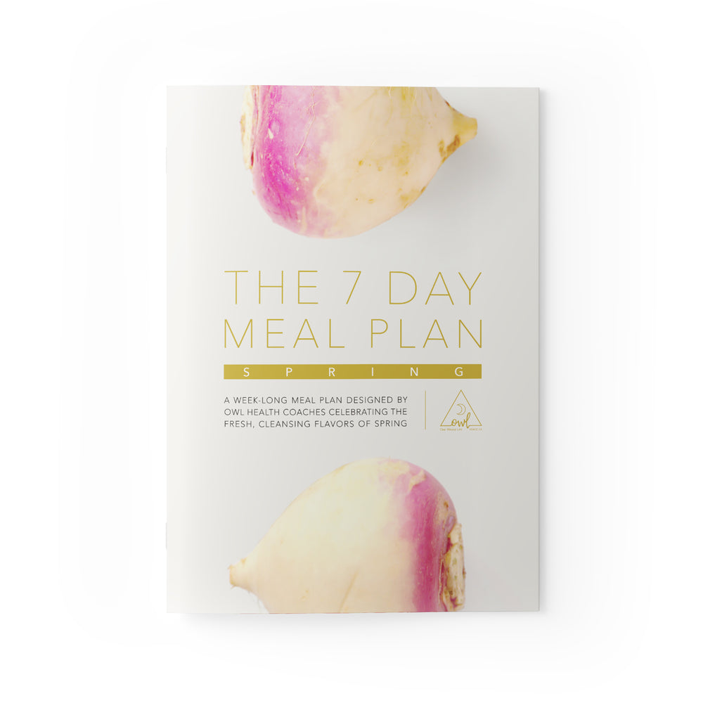 The 7 Day Spring Meal Plan