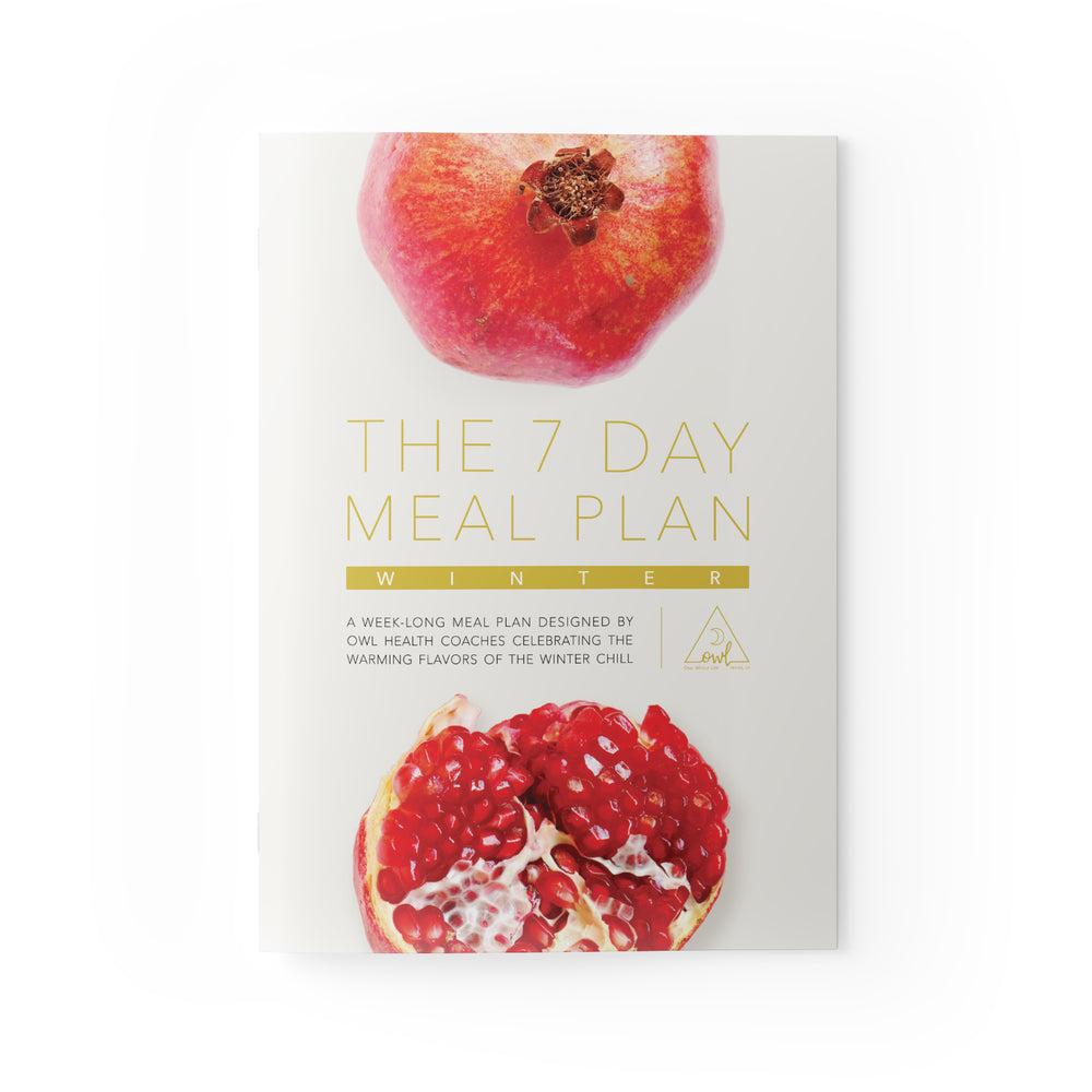 The 7 Day Winter Meal Plan - OWL Venice