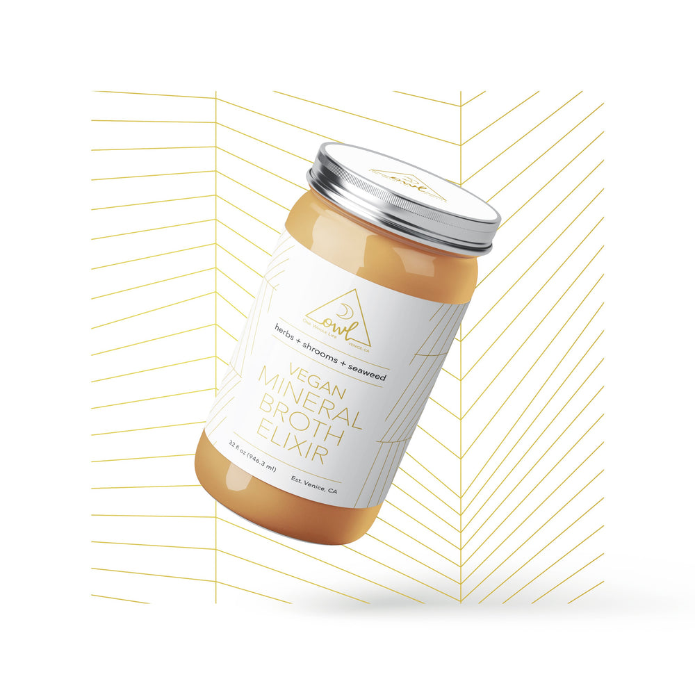 OWL Case of Bone Broth Elixirs (for local pick up only) - OWL Venice