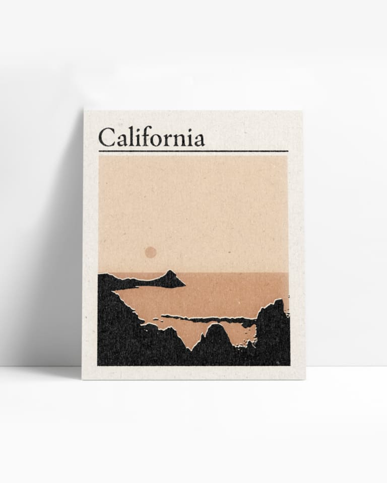 California Print by Real Fun, Wow! - OWL Venice
