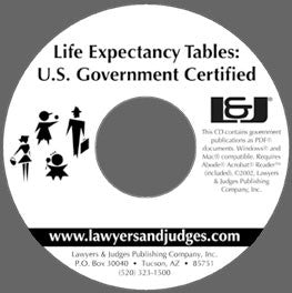 U.S. Historical Life Expectancy Tables, 1901-Present - Lawyers & Judges Publishing Company, Inc.